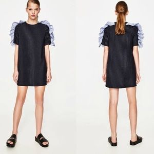 Zara Pinstripe Dress